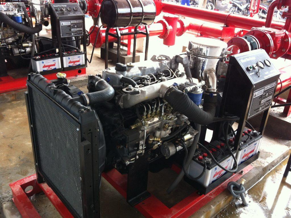 sửa máy bơm chữa cháy